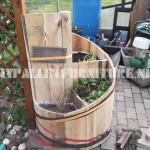 Planteur spirale avec palettes