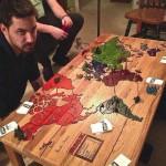 Table pour jouer Risk
