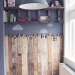 Bois décoratif de couverture pour les chambres d'enfants