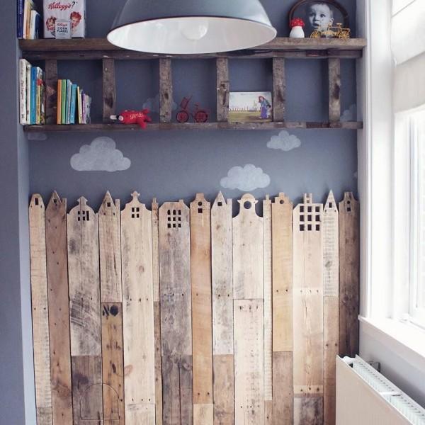 Bois décoratif de couverture pour les chambres d'enfants 1