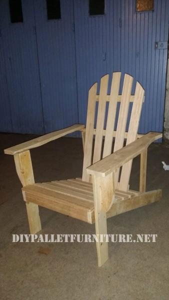 Chaise et table pour la terrasse d'Esprit Loft Recup 1