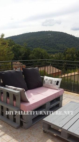 Les canapés de palettes de Marie pour la terrasse 3
