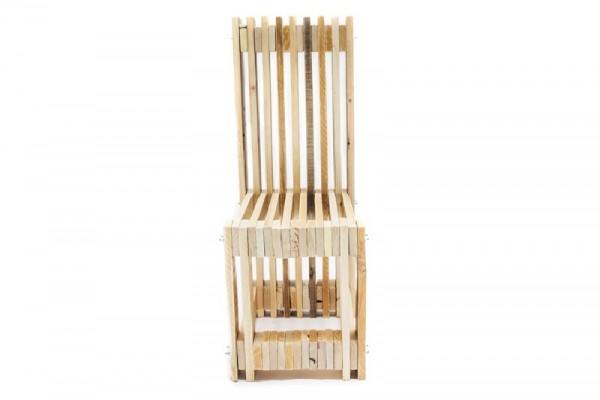 Bureau et chaise design avec des palettes 5
