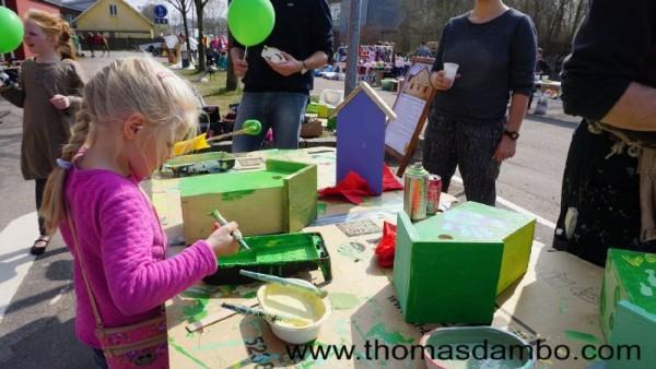 Happy city birds, un projet d'école pour les enfants avec des palettes 5