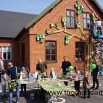 Happy city birds, un projet d'école pour les enfants avec des palettes