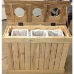 Distributeur de recyclage de palettes