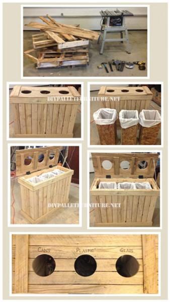 Distributeur de recyclage de palettesmeuble en palette for Distributeur meuble