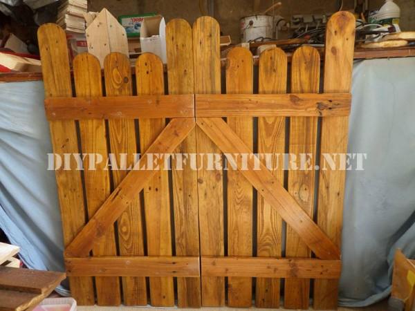 Avec portes palettes de jardin 2