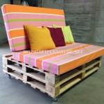 Canapé-mobile avec des palettes