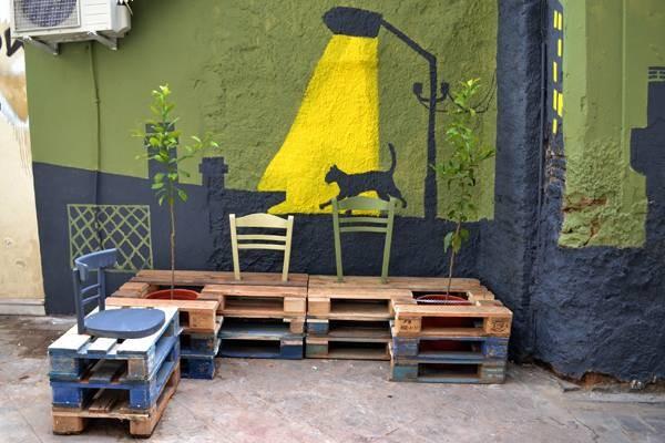La revitalisation urbaine avec des palettes 2
