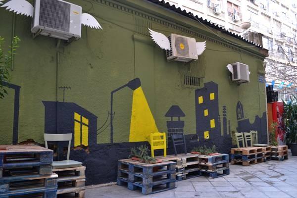 La revitalisation urbaine avec des palettes 4