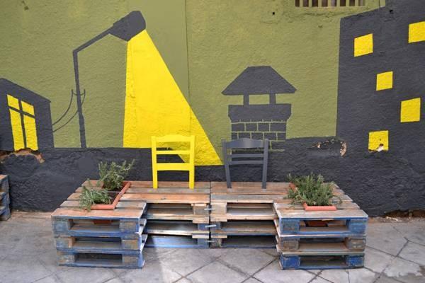 La revitalisation urbaine avec des palettes 5