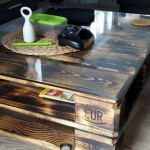 Pallet table basse