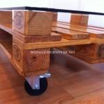 Table basse avec palettes