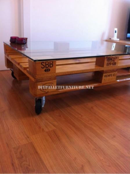 Table basse avec palettes 2