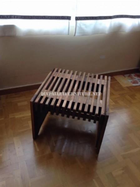 Table design avec des tableaux de palettes 2