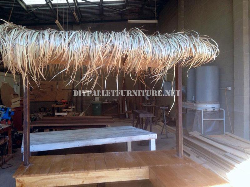 bar de style hawa en avec des palettes 2meuble en palette meuble en palette. Black Bedroom Furniture Sets. Home Design Ideas