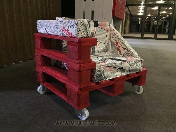 fauteuil design avec des palettes 1meuble en palette meuble en palette. Black Bedroom Furniture Sets. Home Design Ideas