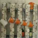 Hanger polyvalente avec une seule palette
