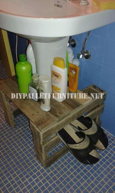 Meuble pour lavabo 1