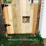 Sectoriser votre jardin en utilisant une porte de palettes