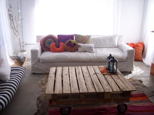 Table rustique pour le salon 1