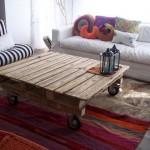 Table rustique pour le salon