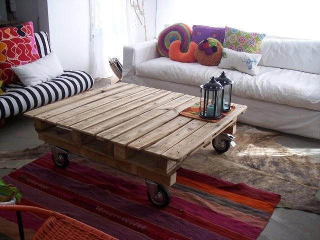 Table rustique pour le salon 2