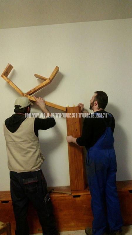Étagères et des meubles pour la salle de séjour avec la forme de l'arbre 4
