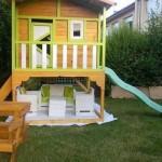 Petite cabane de jardin pour les enfants