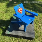 Superman chaise Adirondack