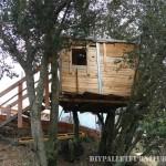 A Treehouse avec des palettes