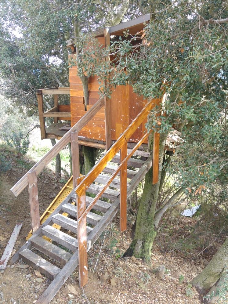 A Treehouse avec des palettes 3