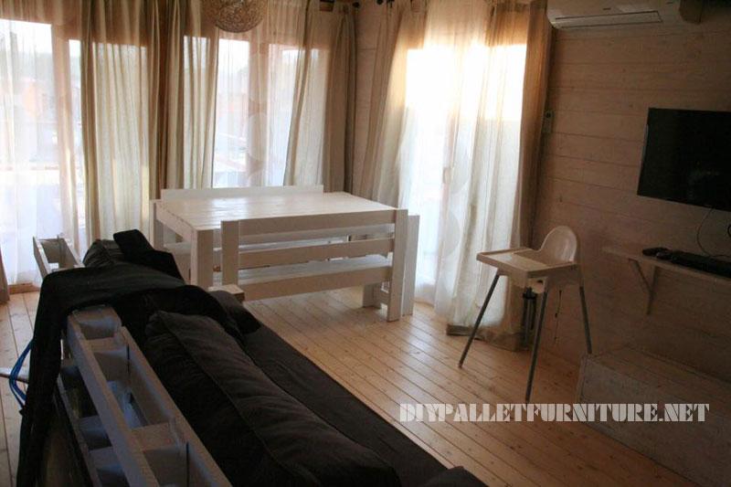 Chalet en Alentejo entièrement meublé avec palettes 1