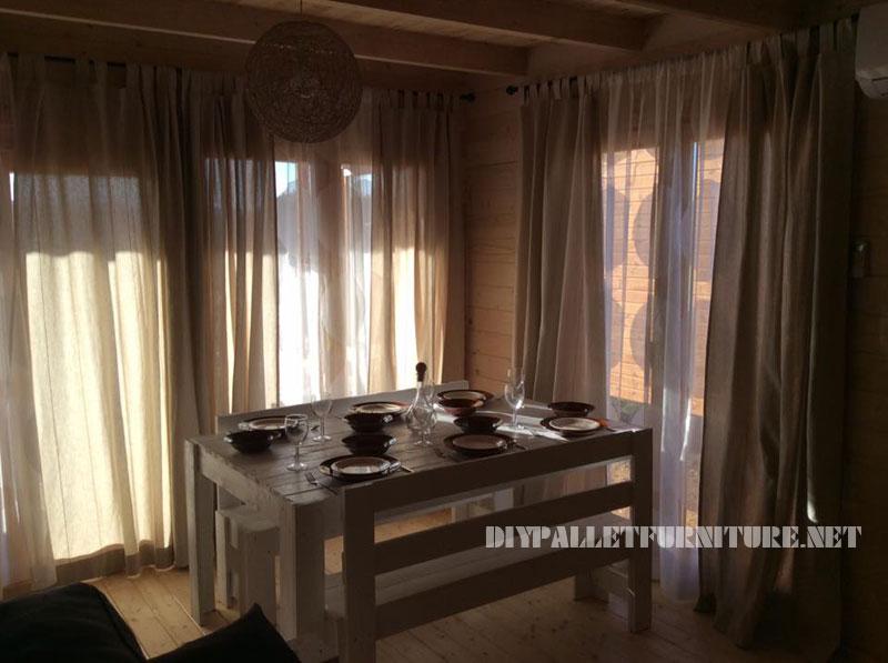Chalet en Alentejo entièrement meublé avec palettes 3