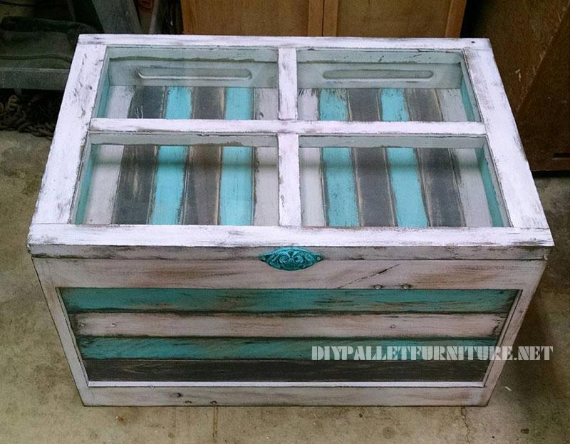Table avec palette photos de conception de maison for Table exterieur en palette
