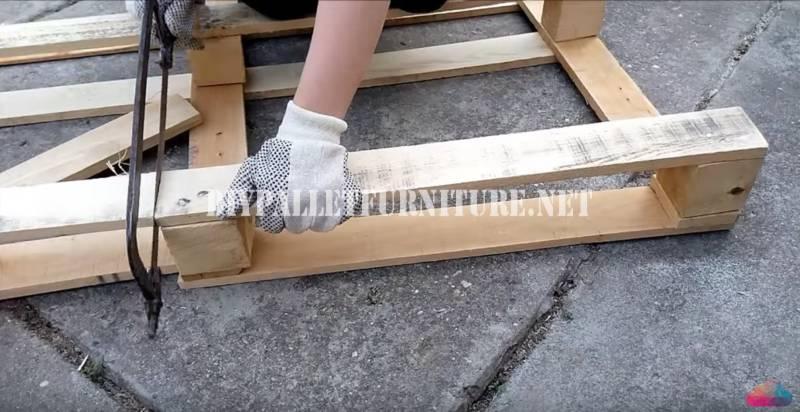 Tutoriel vidéo pour construire une table basse 2