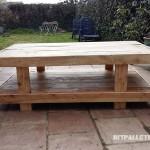 Double hauteur table de palette