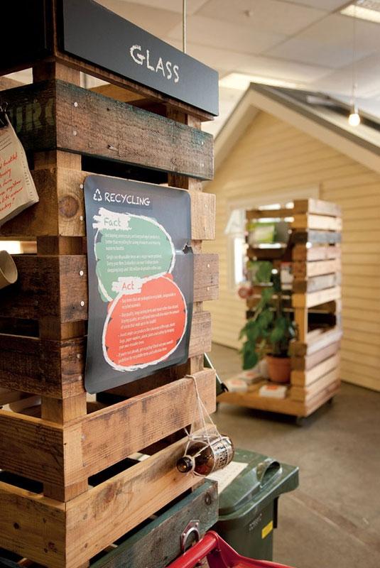 Les meubles de palettes dans le sustainability trust for Les meubles en palettes