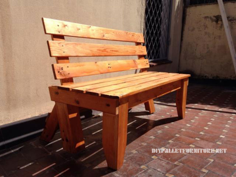 Banc Tv En Palette : Banc De Jardin En Palettes Pictures To Pin On Pinterest