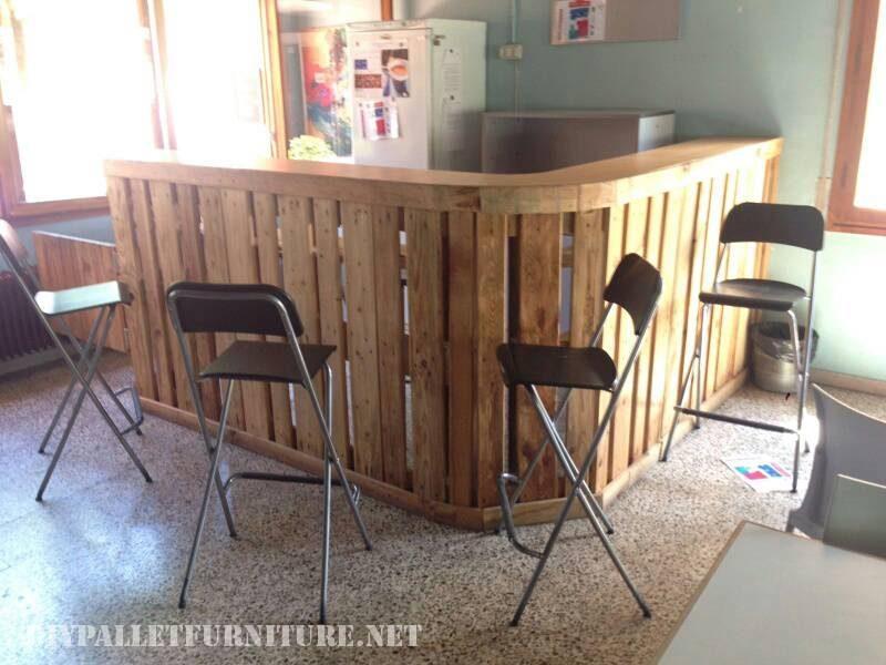 bar europalettes 1meuble en palette meuble en palette. Black Bedroom Furniture Sets. Home Design Ideas