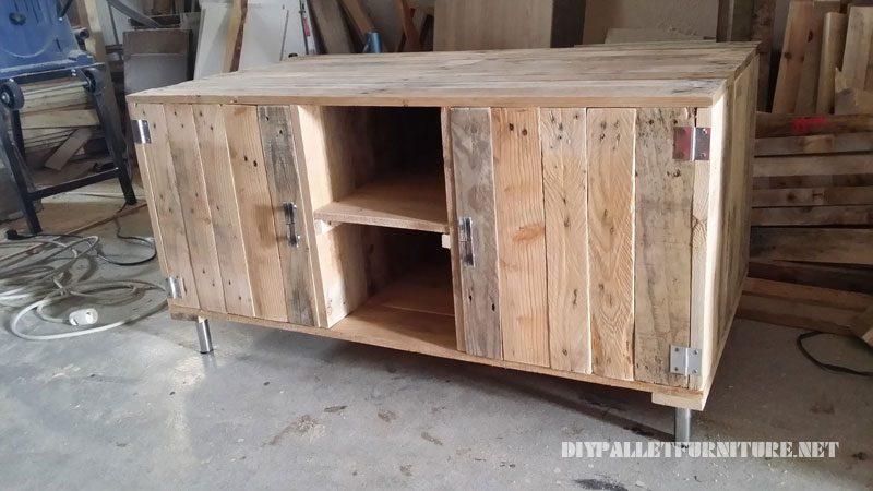 Construire Meuble Tv Palette ~ Solutions Pour La Décoration