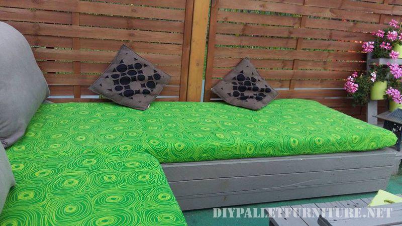 Meubles de patio avec des palettes 2meuble en palette for Meuble patio en palette