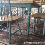 Table récupéré avec palettes planches