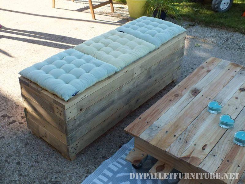 espace Chill-out pour la terrasse avec des palettes 3