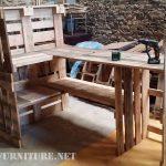 Projet et le résultat final d'une pièce de mobilier pour la cuisine