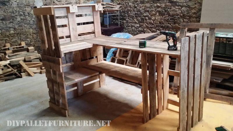Projet et le résultat final d'une pièce de mobilier pour la cuisine 3