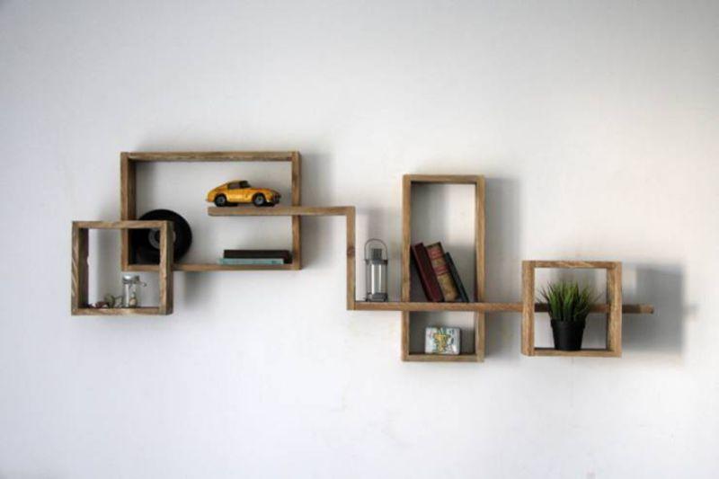 Des exemples de tablettes que vous pouvez faire avec des palettesmeuble en pa - Que faire avec des palette ...