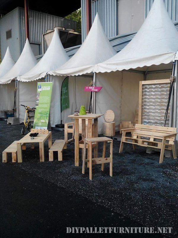 Plusieurs meubles de palette pour le salon et le - Trouver des meubles gratuits ...