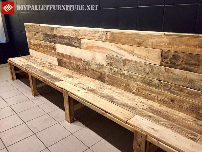 banc de palette pour bar 4meuble en palette meuble en palette. Black Bedroom Furniture Sets. Home Design Ideas